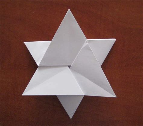 Easy Origami With A4 Paper - 39 best of david מגן דוד images on