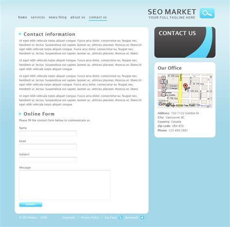 Seo Marketing Company 5 by Seo Market Marketing Business Template By Idowebdesign