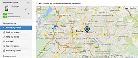 Find Location How To Track Your Stolen Or Lost Smartphone Android