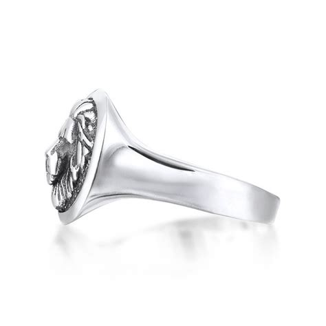 Leo Ring leo ring solid silver size 10 atolyestone touch