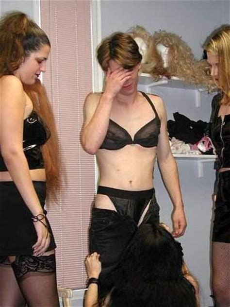 forced fem by three women girls who want to crossdress boys are doing the world a