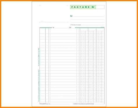 5 facture vierge 224 imprimer lettre officielle
