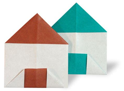 House Origami - nature and scenery origami a house paper origami