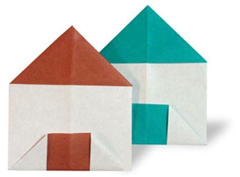 Folded Paper House - 折り紙 家3