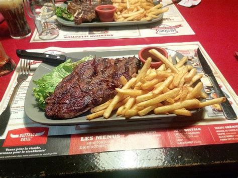 Buffalo Grill Montbéliard by Steak Picture Of Buffalo Grill Andelnans Tripadvisor