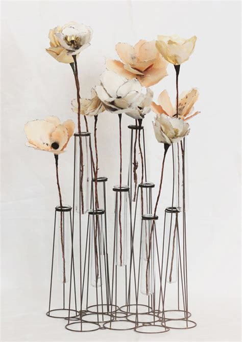 How To Make Paper Flowers With Stems - the canopy artsy weddings weddings