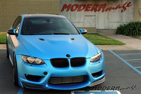 bmw light blue metallic gloss black to matte blue metallic bmw e92 m3 modern image