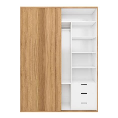 Lemari Kayu Panel lemari baju modern minimalis laci lemari pakaian