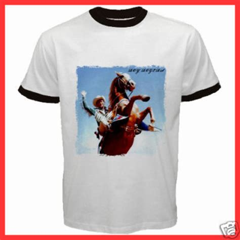 Custom Made Tees At Roy by Yuniarko Custom New Roy Rogers Trigger White T Shirt S