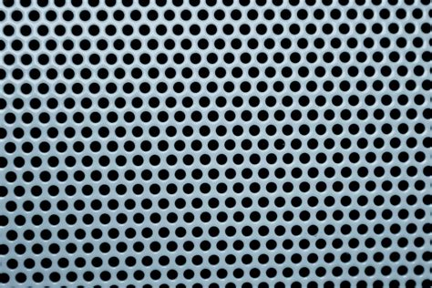 grey mesh pattern blue gray metal mesh with round holes texture picture
