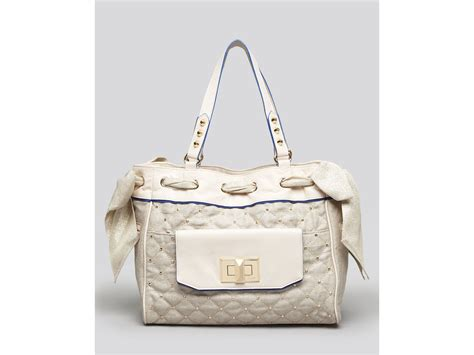 Couture Daydreamer Tote by Couture Tote Karla Metallic Linen Daydreamer In
