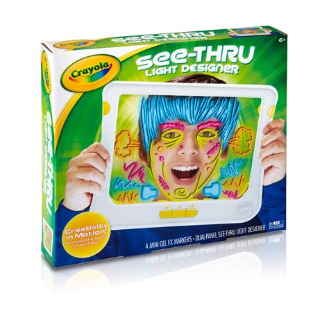 Crayola Touch Lights by Crayola Mess Free Touch Lights Activity Pad Free