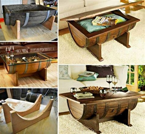33 Best Wooden Ice Chest Plans Images On Pinterest Wine Barrel Coffee Table Plans
