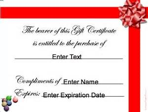 gift card template for mac gift certificate template word mac