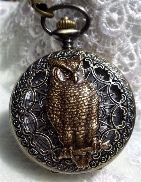54698 Owl Pocket Pocket 1 1004 best victogothste this images on pocket pocket watches and