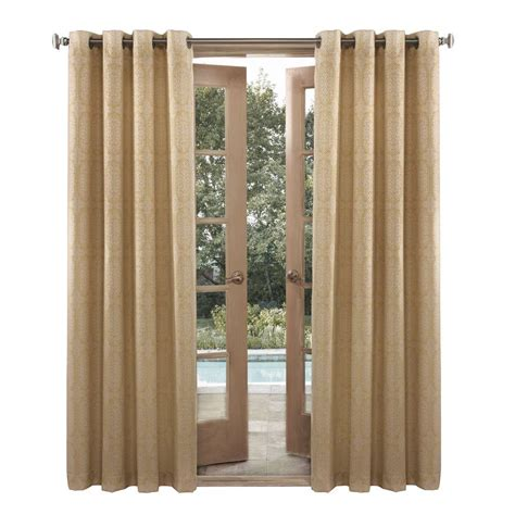 outdoor window curtains sun zero outdoors nelly yellow indoor outdoor woven mosaic