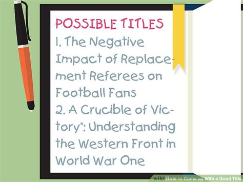 possible themes of the crucible how to come up with a good title with pictures wikihow