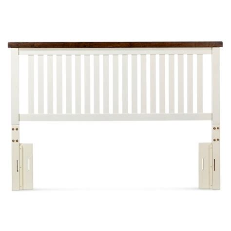 cottage headboards davern cottage headboard white oak full queen target