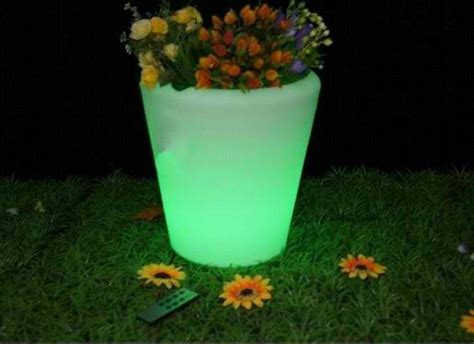 Glow In The Planter by Glow In Planters Inspiring Ideas
