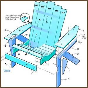 how to build simple adirondack chair simple adirondack