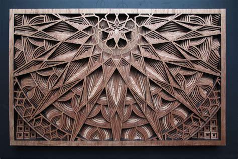art design laser cut wood art of gabriel schama design milk