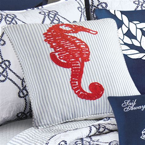 Nautical Bedding Quilt by Knotty Buoy Cotton Nautical Quilt Bedding