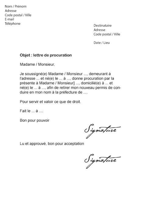 lettre de retrait de permis de construire lettre de procuration permis de conduire mod 232 le de lettre