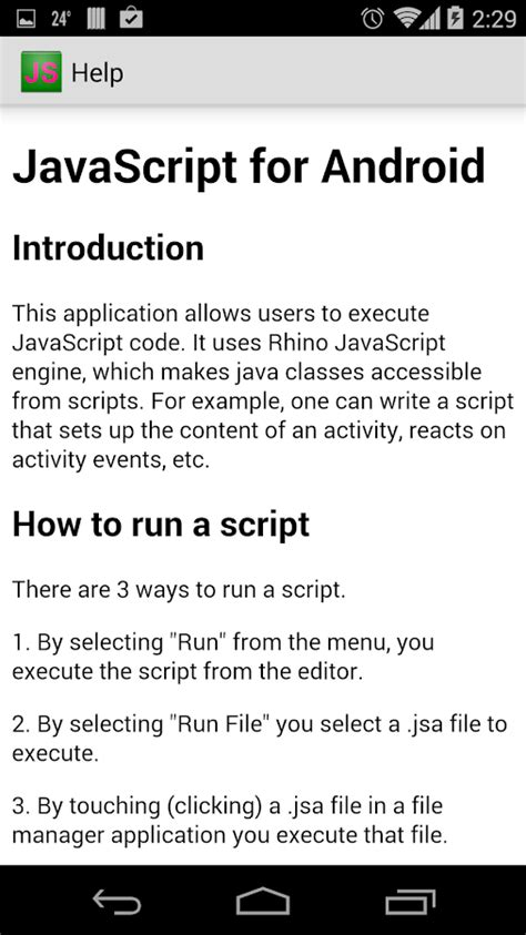javascript for android javascript for android android apps on play
