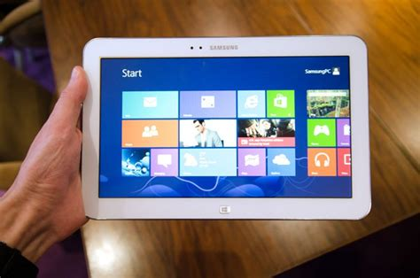 Tablet Samsung Os Windows 8 samsung announces a windows 8 tablet the ativ tab 3