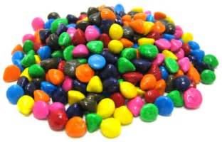 colored chocolate chips rainbow coated chocolate chips chips chocolates