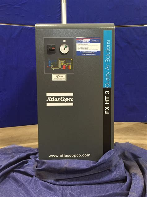 sold atlas copco fxht high temperature refrigerated air dryer compressor engineering group