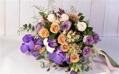 foto di mazzi di fiori bellissimi scarica sfondi bouquet di nozze orchidee