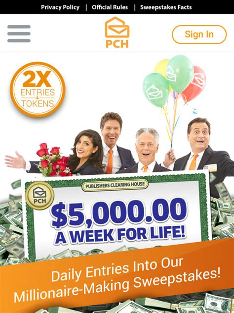 Pch Winner 6 30 17 - the pch app cash prizes sweepstakes mini games by publishers clearing house