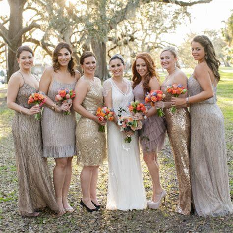 Jumpsuit Dress Motif 6191 10 10 ways to rock sequin bridesmaid dresses at your wedding