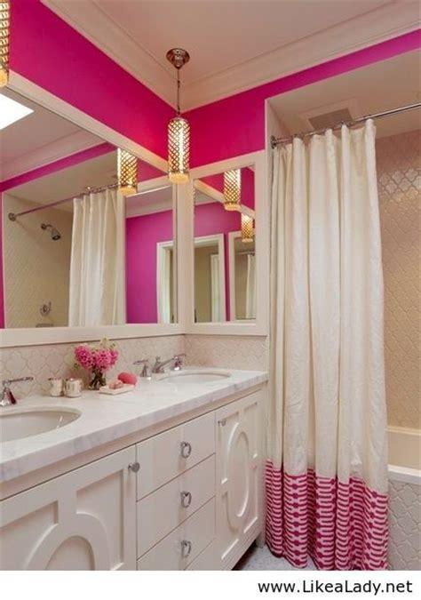 white chicks bathroom pink and gold bathroom dream home pinterest