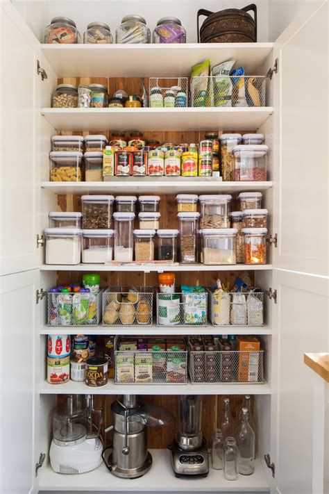 Pantry Organization Containers by Kitchen Pantry Organization Caroline S California