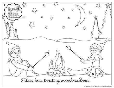 elf on the shelf mini coloring pages 15 best coloring the on the shelf images on pinterest