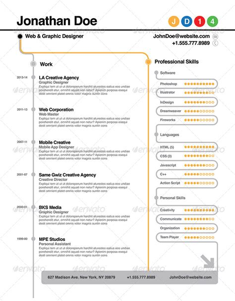 Subway Resume by Subway Resume By Willaca Graphicriver