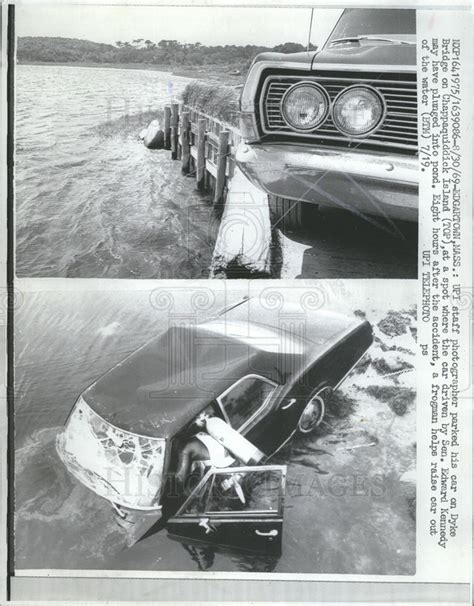 Chappaquiddick Facts 1969 Press Photo Bridge On Chappaquiddick Island Edward Kennedy Accide Historic Images