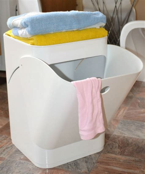 bathroom laundry bins white componibili laundry basket bathroom kitchen bedroom