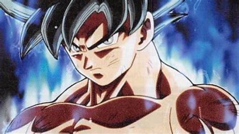 imagenes de goku transformacion doctrina egoista esta ser 225 la nueva transformaci 243 n de goku en dragon ball super
