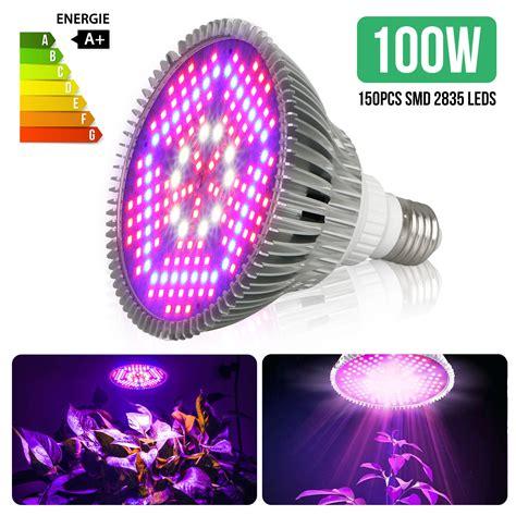 led grow light bulb plant lights full spectrum