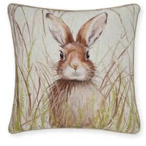 Hare print cushion 163 14 next