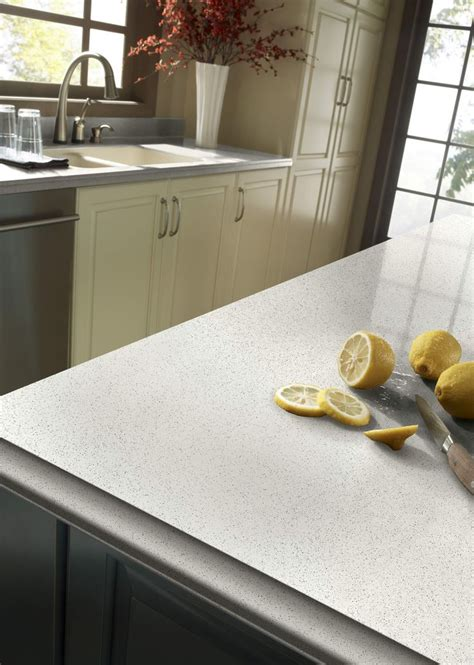 Zodiaq® Snow Flurry   Are you Dreaming of a White Kitchen
