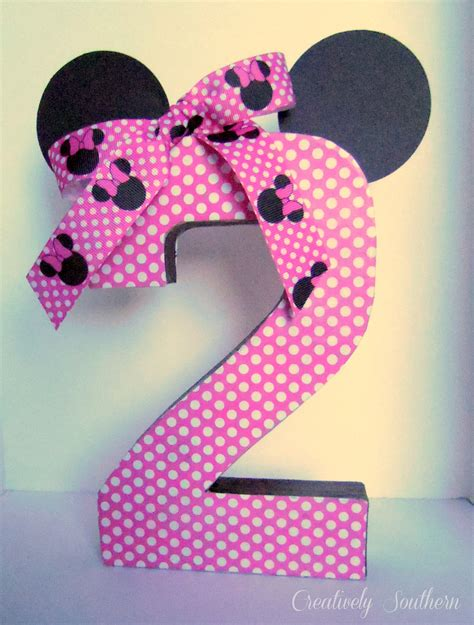 Minnie Mouse Birthday Decoration by Minnie Mouse Birthday And Paper Mache