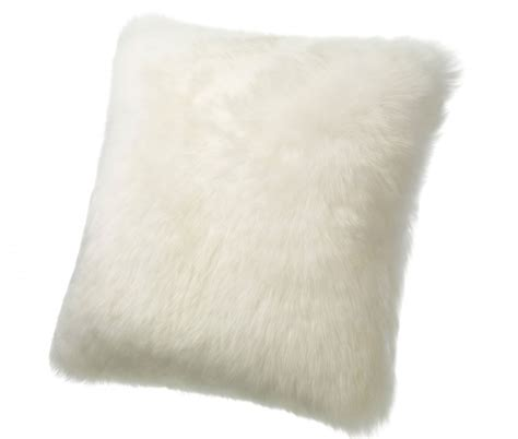 Big Floor Pillow by Sheepskin Pillows Large 32 Fur Floor Cushions Ivory
