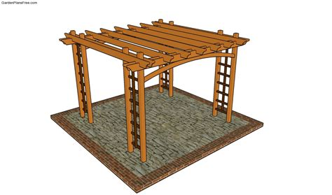 Bench Arbor Plans Free Garden Plans How To Build Pergola Plans Free