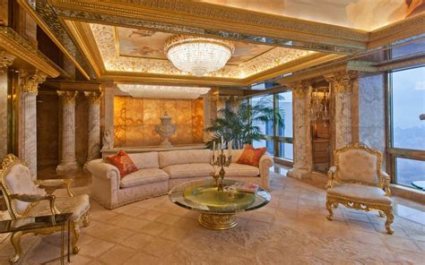 donald trump gold penthouse inside donald trump s 100 million penthouse in new york