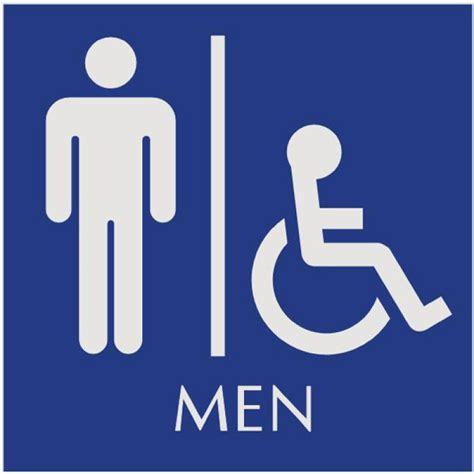 Ada Bathroom Sign by S Bathroom Signs Restroom Sign Naag Tag