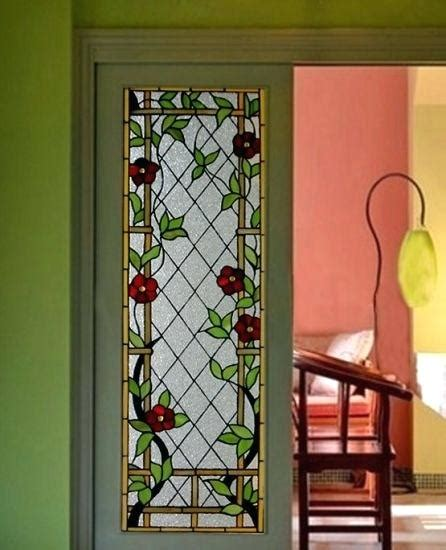 stained glass doors panels stained glass door panels
